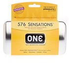 ONE - 576 Sensations Condoms